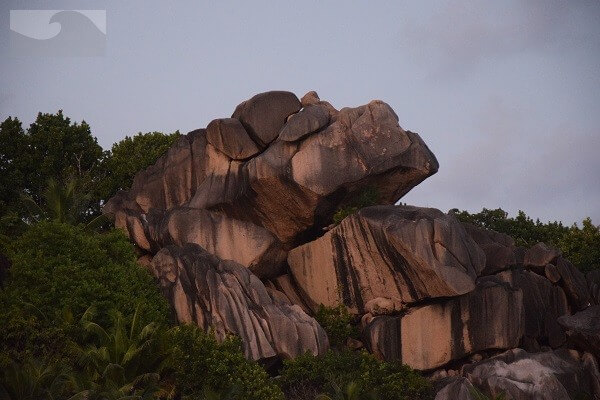 Grand Anse La Digue Seychellen Barbecue